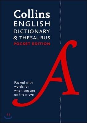 English Pocket Dictionary and Thesaurus