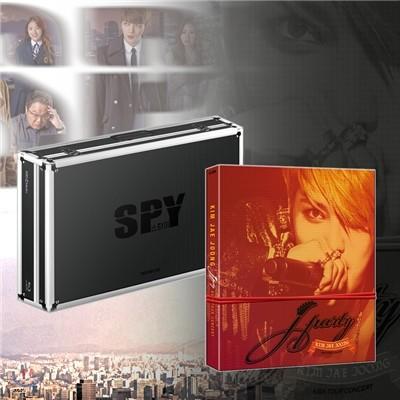 김재중 J Party Asia Tour Concert in 고려대 DVD [한정판] + 스파이 블루레이