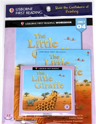 Usborne First Reading Workbook Set 2-4 : The Little Giraffe