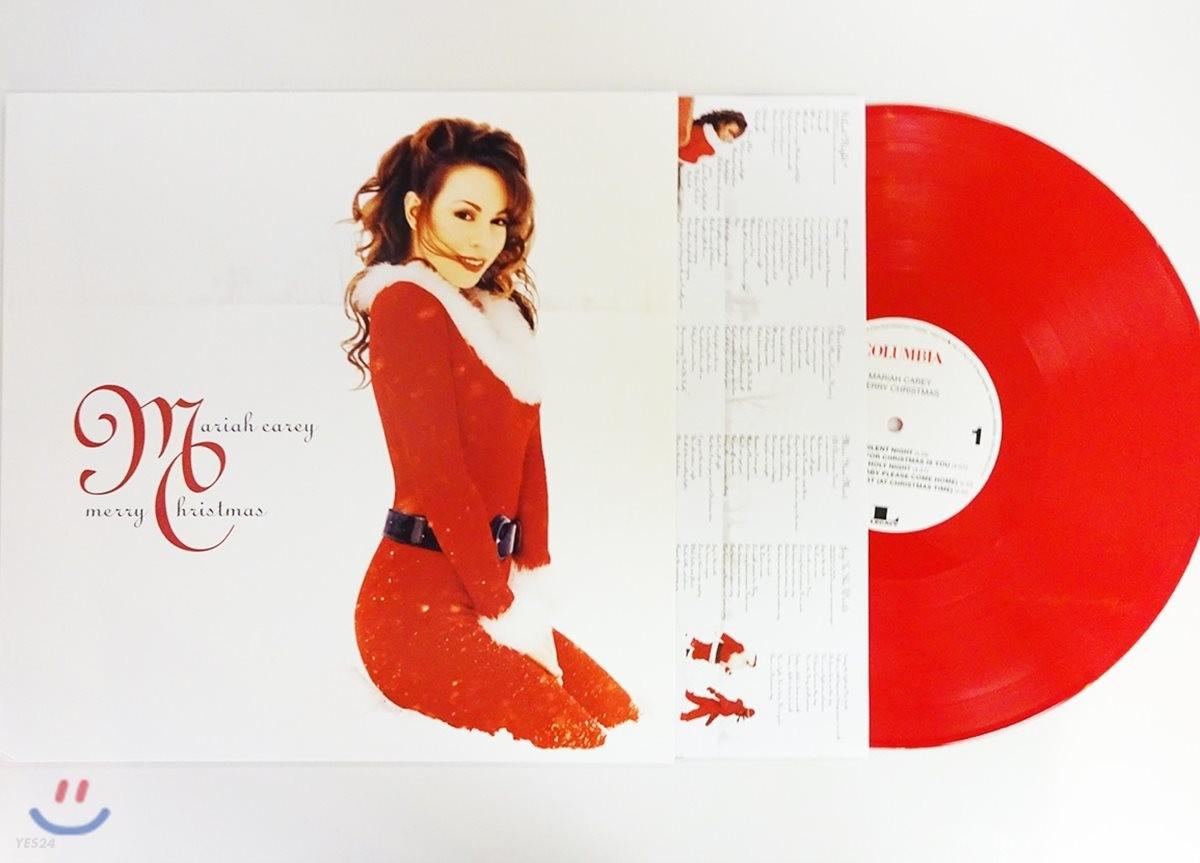 Mariah Carey - Merry Christmas 머라이어 캐리 크리스마스 앨범 [레드 컬러 LP]