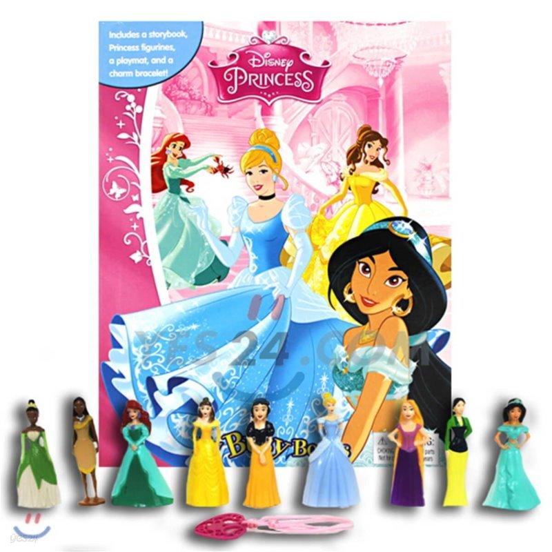Disney Princess My Busy Book 디즈니 프린세스 비지북 피규어책