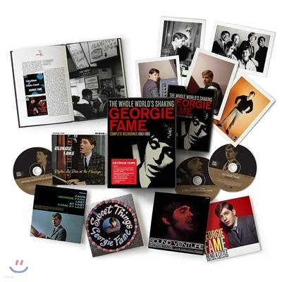 Georgie Fame - The Whole World's Shaking: Complete Recordings 1963-1966