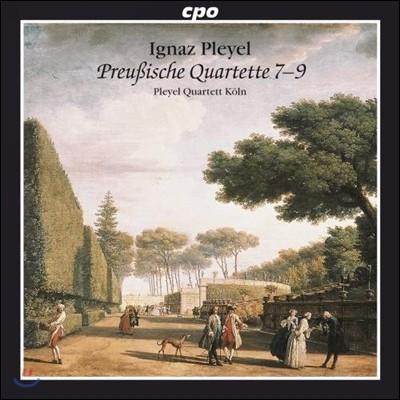 Pleyel Quartett Koln 이그나츠 플레옐: 프러시아 사중주집 (Ignaz Pleyel: Prussian Quartets 7-9)