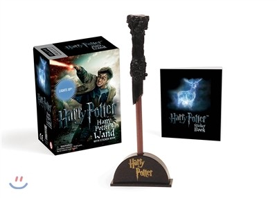 Harry Potter Wizard's Wand With Sticker Book
