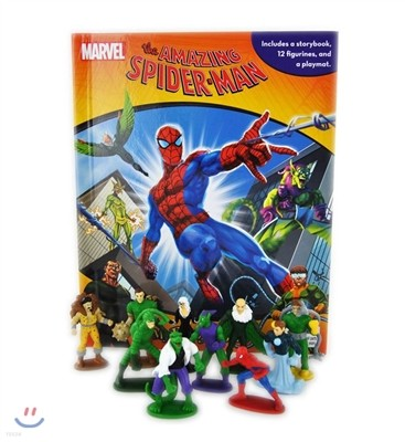 Marvel Spider-Man : My Busy Book 스파이더맨 비지북