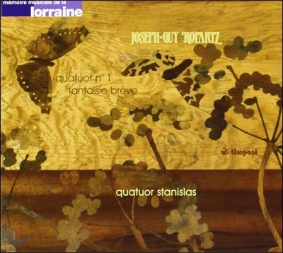 Stanislas Quartet 알베릭 마냐르: 현악 사중주 1번, 짧은 환상곡 (Alberic Magnard: String Quartet, Fantasie Breve)