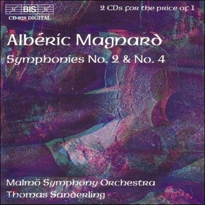 Thomas Sanderling 알베릭 마냐르: 교향곡 2번, 4번 (Alberic Magnard: Symphonies No.2, No.4)
