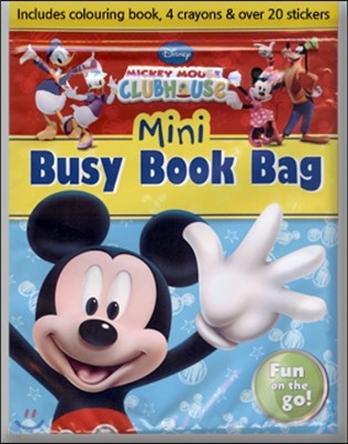 Disney Mickey Mouse Clubhouse Mini Busy Book Bag