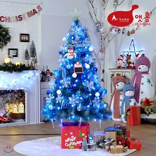 콜유(coleu) 링링 블루 스노우 1.6M 크리스마스 트리 세트