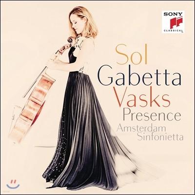 Sol Gabetta 바스크스: 첼로 협주곡 2번 (Peteris Vasks: Cello Concerto 'Presence')