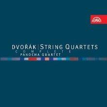 Panocha Quartet / 드보르작 : 현악 사중주 전집 (Dvorak : The Complete String Quartet) (8CD Box Set/수입/SU38152)