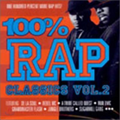 100% Rap Classics Vol.2