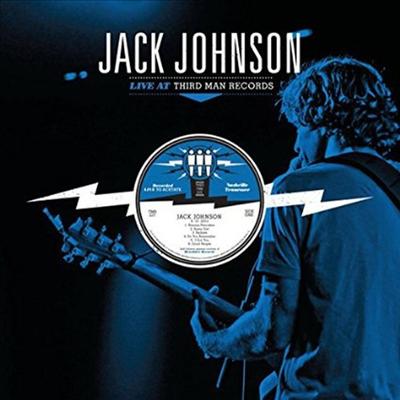 Jack Johnson - Live At Third Man Records (LP)