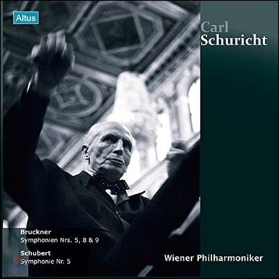 Carl Schuricht 카를 슈리히트 - 빈 필하모닉 라이브 에디션  (Bruckner: Symphonies Nos.5, 8, 9 / Schubert: Symphonie No.5) [6LP]
