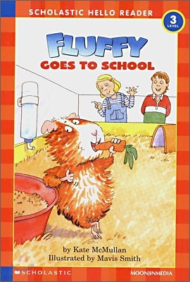 Scholastic Hello Reader Level 3-19 : Fluffy Goes to School (Book+CD Set)