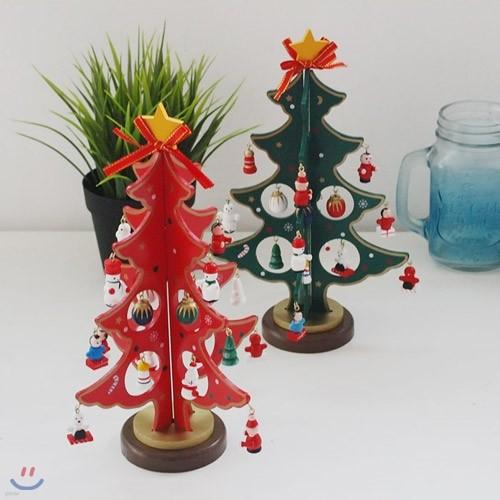 내가 만드는 크리스마스 우드트리 25cm