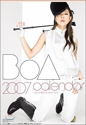 보아 (BoA) - BoA 2007 캘린더 (벽걸이용)