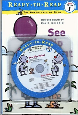 Ready-To-Read Pre-Level : See Pip Point / See Otto (2 Books+CD Set)