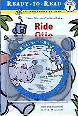 Ready-To-Read Pre-Level : Ride Otto Ride / Swing Otto Swing (2 Books+CD Set)