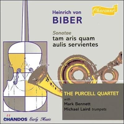 Purcell Quartet 비버: 교회 혹은 궁정용 소나타 (Heinrich von Biber: Sonatae Tam Aris Quam Aulis Servientes)