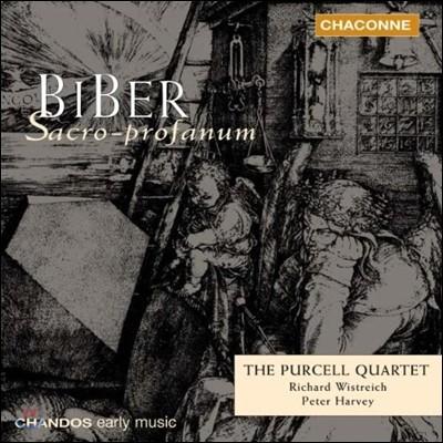 Purcell Quartet 비버: 종교적 & 세속적 현악곡집 (Heinrich von Biber: Fidicinium Sacro-Profanum Nos.1-12)