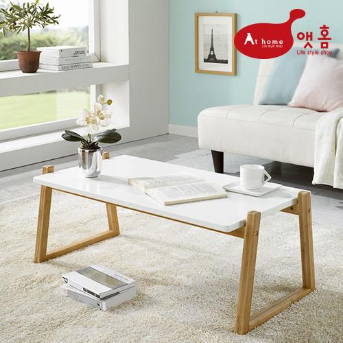 앳홈 렉탱글 대나무 좌식 테이블