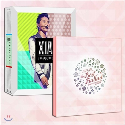 XIA (준수) 2014 베스트 발라드 + 인크레더블 DVD 패키지 [한정판]