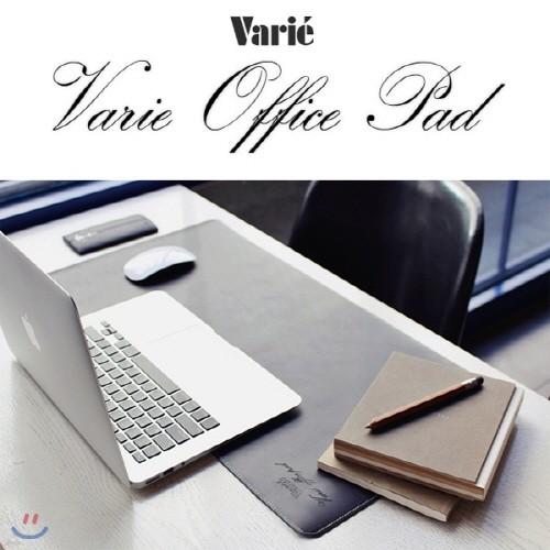 바리에 오피스 패드 블랙/브라운 양면 VOP-PAD101