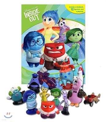 Disney Pixar Inside Out My Busy Book ����� ������ �Ȼ� �λ��̵� �ƿ� �DZԾ� å