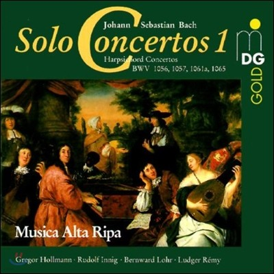 Musica Alta Ripa 바흐: 독주 협주곡 1집 - 하프시코드 협주곡 (Bach: Solo Concertos 1 - Harpsichord Concertos)