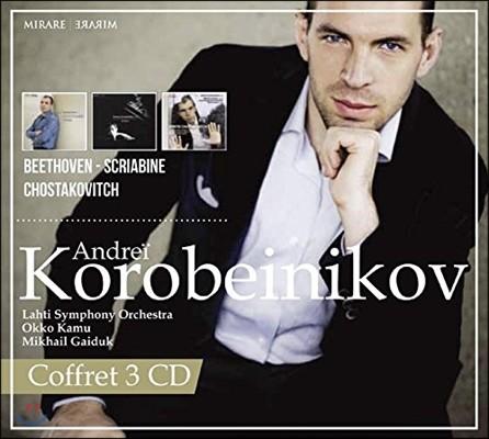 Andrei Korobeinikov 안드레이 코로베이니코프 - 스크리아빈 / 베토벤 / 쇼스타코비치 (Scriabin / Beethoven / Shostakovich)
