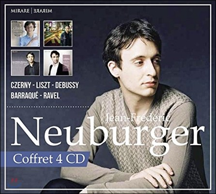 Jean-Frederic Neuburger 장 프레데릭 노이부르거 - 체르니 / 리스트 / 드뷔시 (Czerny / Liszt / Debussy: Piano Works)