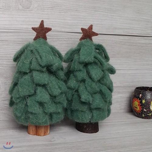 크리스마스 양모 트리