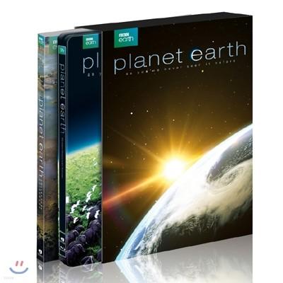 살아있는 지구 UCE (6Disc) 스틸북 : 블루레이 (100p 콜렉터스 가이드북 + 홀로그램 코팅 풀슬립 케이스 + 넘버링 포함 방영 10주년 기념한정판)