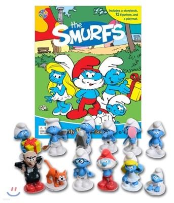 The Smurfs My Busy Book 스머프 비지북 피규어책