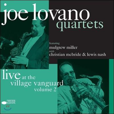 Joe Lovano - Quartets: Live At The Village Vanguard Vol. 2 [2LP]