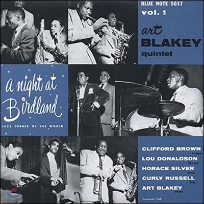 Art Blakey Quintet - A Night At Birdland Vol.1 [10인치 Vinyl]