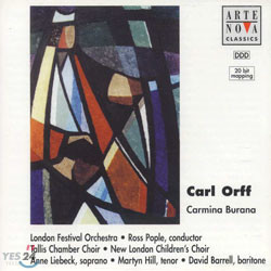 Orff : Carmina Burana : Ross Pople