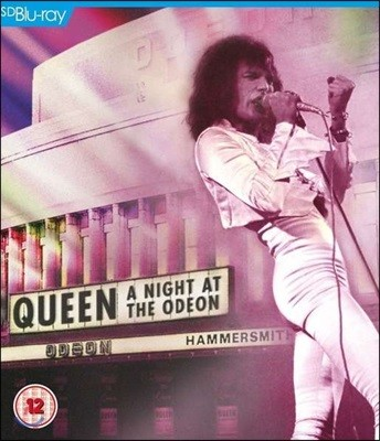 Queen - A Night At The Odeon Hammersmith 1975 해머스미스 공연 라이브 [블루레이]