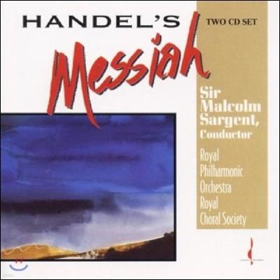 Malcolm Sargent 헨델: 메시아 (Handel: Messiah)