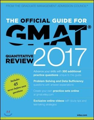 The Official Guide for GMAT Quantitative Review 2017