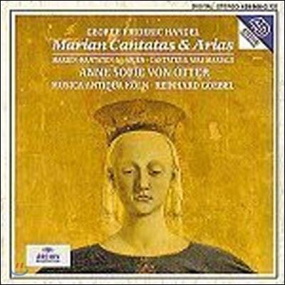 [중고] Anne Sofie Von Otter, Reinhard Goebel / Handel : Marian Cantatas and Arias (dg2508/4398662)
