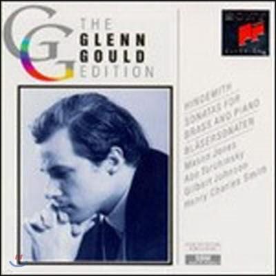 [중고] Glenn Gould / Hindemith : Sonatas For Brass And Piano (수입/2CD)