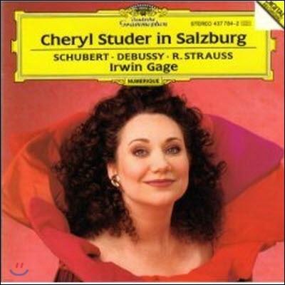 [중고] Cheryl Studer, Irwin Gage / Cheryl Studer in Salzburg (dg1375/4377842)