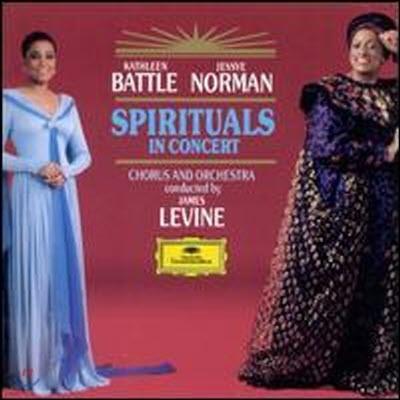 [중고] Kathleen Battle, Jessye Norman / Traditional : Spirituals In Concert (dg0399/4297902)