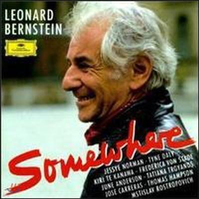 """[중고] Leonard Bernstein / """"Somewhere"""" - The Leonard Bernstein Album (dg1377/4392512)"""
