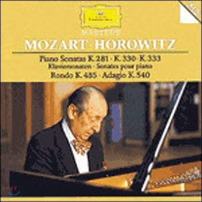 [중고] Vladimir Horowitz / Mozart : Piano Sonatas K.281, K.330, K.333 (dg3167/4455172)