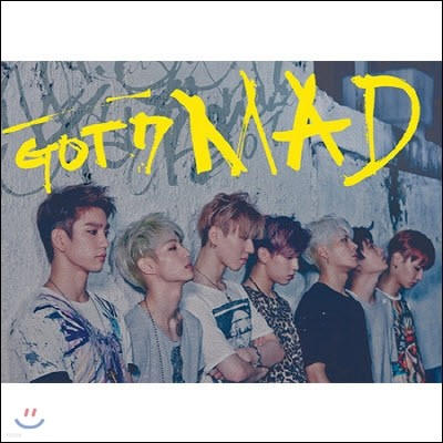 [중고] 갓세븐 (Got7) / Mad (Mini Album) (Horizontal Ver.)
