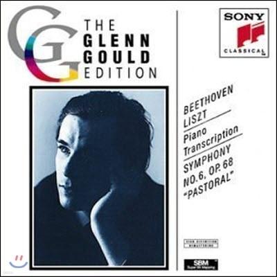 """[중고] Glenn Gould / Beethoven, Liszt (Piano Transcription) : Symphony No. 6 """"Pastoral"""" (cck7324/smk52637)"""
