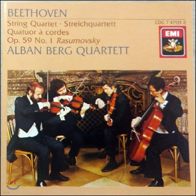 [중고] Alban Berg Quartett / Beethoven : String Quartets Op.59/1 (수입/cdc7471312)